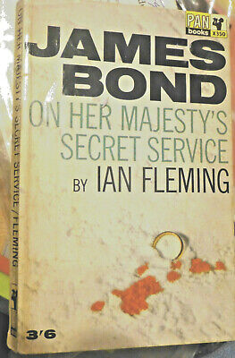 On Her Majesty's Secret Service By Ian Fleming-1965 Paperback-James Bond 007 • 3£