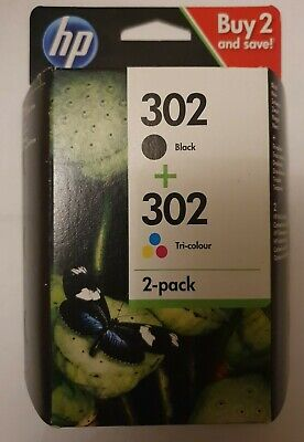 Genuine HP 302 Ink Cartridges Combo • 8.50£