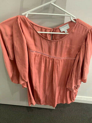 AU20 • Buy Witchery Coral Size 16 Blouse