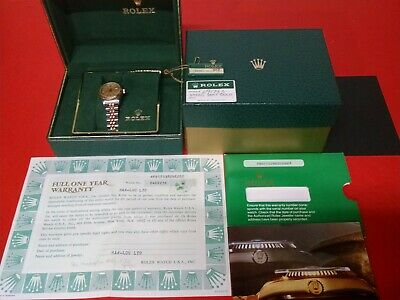 $ CDN5346.39 • Buy 1984 Rolex Lady Oyster Perpetual Date – Watch Box And Papers Inc Watch #8486236