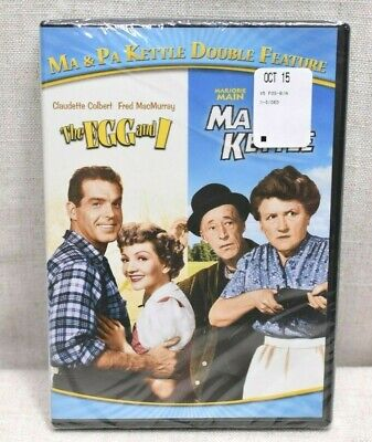 $16.98 • Buy The Egg And I & Ma & Pa Kettle DVD Double Feature BRAND NEW [Fred MacMurray]