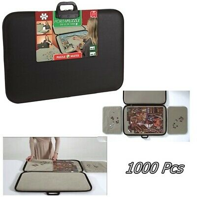 £50.01 • Buy Jigsaw Puzzle Board Storage Deluxe Mat Holder Case 1000 Pieces Board Portapuzzle