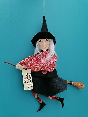 £18 • Buy Handmade Scary Pendle Witch,Art Doll, OOAK
