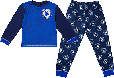 £7.99 • Buy Chelsea F.C Official Boys Chelsea F.C. Pyjamas CFC Pjs Ages 3 To 14 Years