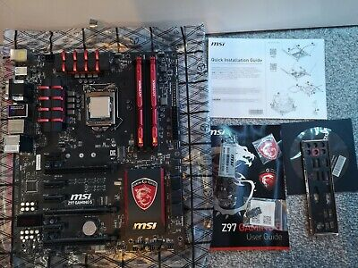 (Bundle) Msi Z97 Gaming 5+i5 4690k+16gb Ddr3 1866mhz • 170£