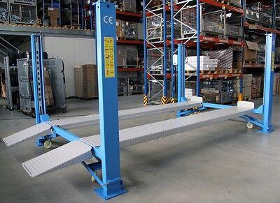 4 POST PARKING SERVICE LIFT RAMP 4000kg LIMITED OFFER 1799 Inc Vat • 1,799£