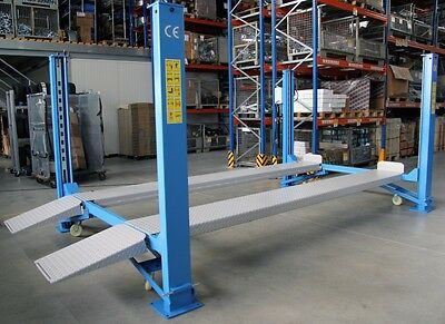 4 POST PARKING SERVICE LIFT RAMP 4000kg LIMITED OFFER 1899 Inc Vat • 1,899£