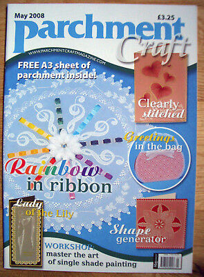 Parchment Craft Magazine - May 2008 Issue  • 4.45£