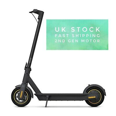 Segway Ninebot Max G30 Electric Scooter 2nd Generation - Black • 645£