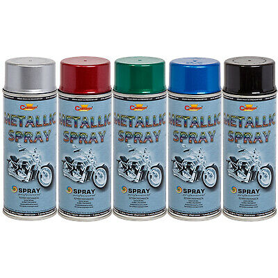 £9.49 • Buy Metallic Glitter Metalized Spray Paint 400ml Motorcycle Scooter Bike 5 Colours
