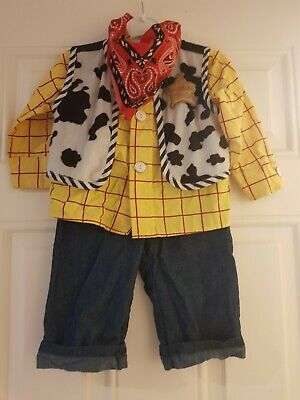 Official Disney Store Toy Story Woody Outfit Age 18-24 Months  • 2.50£
