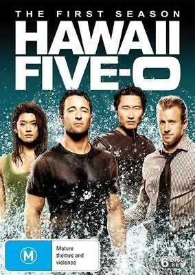 AU13 • Buy DVD: Hawaii Five-0 - Season 1 (6 Disc Set)