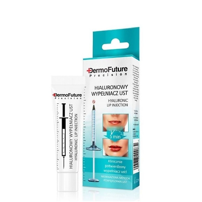 DermoFuture Hyaluronic Lip Filler With Collagen Clinically Certified 12ml • 4.75£