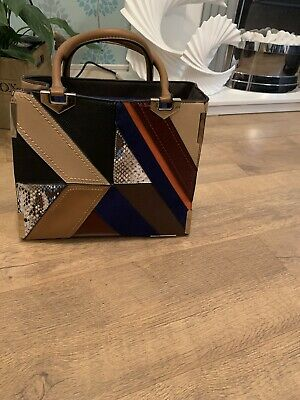 River Island Tote Bag! Good Used Condition,great Mix Of Colours. • 20£