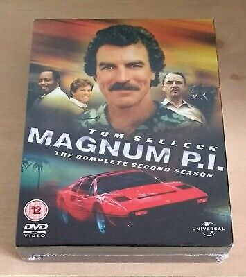 Magnum P.I: The Complete Season 2 (Dvd) - Tom Selleck • 19.95£