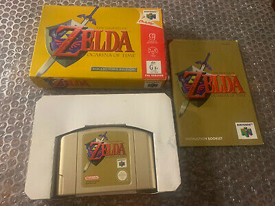 AU132.50 • Buy The Legend Of Zelda: Ocarina Of Time N64 Boxed WOW 🔥🔥