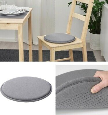 AU21.95 • Buy IKEA Grey Chair Seat Pad Cushion Kitchen Office Dining Patio Chair Washable