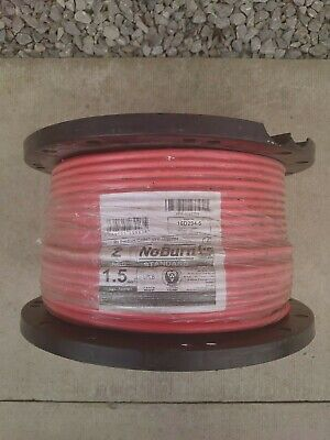 Red 2 Core + Earth FP200 Fire Alarm & Em Lighting Fireproof Cable. 100m NEW • 60£