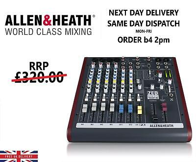 Allen & Heath - ZED60-10FX Compact Analouge USB Mixer With FX CLEARANCE SALE • 314.99£