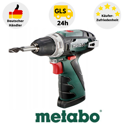 Metabo Electric Screwdriver Powermaxx BS 10,8 V Drill Screws IN Box • 57.72£