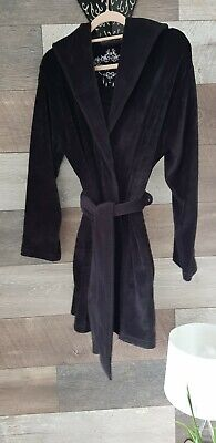 Ted Baker Luxury Stretch Velour Short Dressing Gown 8-10 • 5£