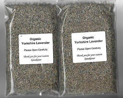 100g Natural Dried ORGANIC Highly Scented English Lavender Pot Pourri Crafts # • 4.99£