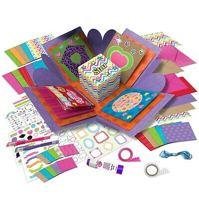Card Crafting Explosion Box Arts And Crafts  DIY Greeting Cards Stationary Set • 15.74£