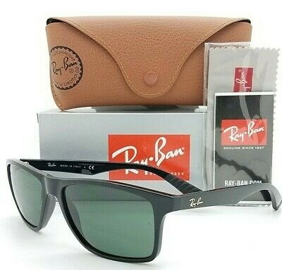 AU134.62 • Buy NEW Rayban Sunglasses RB4234 601/71 58mm Black Classic Green AUTHENTIC RB4234