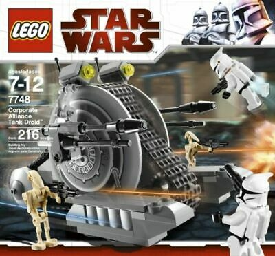 AU75 • Buy RARE LEGO STAR WARS 7748 - Corporate Alliance Tank Droid - EXC 100% Complete