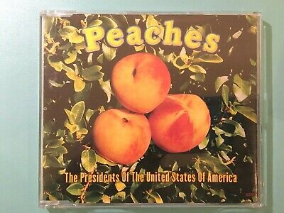 The President Of The Unites States Of America - Peaches CD Single Free Postage • 2.25£
