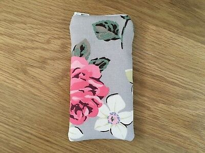 Zipped Glasses / Sunglasses Case (d) Made Using Cath Kidston Fabric By Dawn • 5.50£