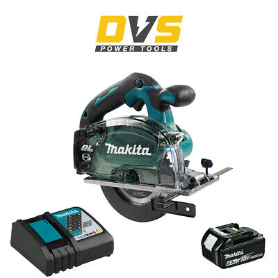 Makita DCS553Z Cordless 18V LXT Brushless 150mm Metal Saw, 6Ah Battery & Charger • 339.95£