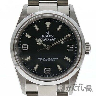 $ CDN11201.91 • Buy Rolex 114270 Explorer 1Automatic Z No. Stainless Men's Watch From Japan[b1024]
