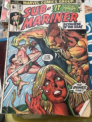 Sub-mariner # 58 - Marvel Comics • 1.50£