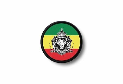 Patch Embroidered Printed Thermoadhesive Rasta Reggae Rastafarian Judah Africa • 3.55£