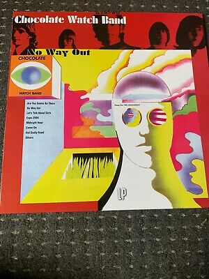 The Chocolate Watchband – No Way Out REISSUE LP Near Mint! Garage Rock • 10.99£