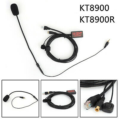 $ CDN67.35 • Buy For QYT KT8900 KT8900R Mini Car Radio,Finger Small PTT Handsfree Microphone BS2