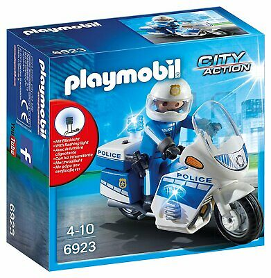 Playmobil 6923 Police Bike With LED Light • 14.52£