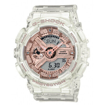 $ CDN139.53 • Buy New Casio G-Shock Transparent Rose Dial Women's Watch GMAS110SR-7A