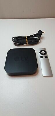 AU99.95 • Buy Apple TV A1427 Gen 3 3rd Generation Media Streamer With Remote