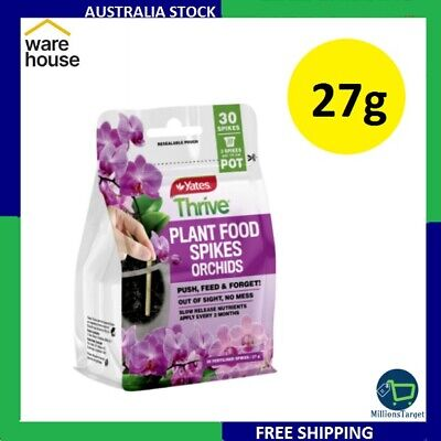 AU19.50 • Buy Yates Thrive 27g Plant Food Spikes Orchids Free Shipping