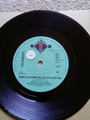 The Dooleys- Think I'm Gonna Fall In Love With You 7  Vinyl • 2£