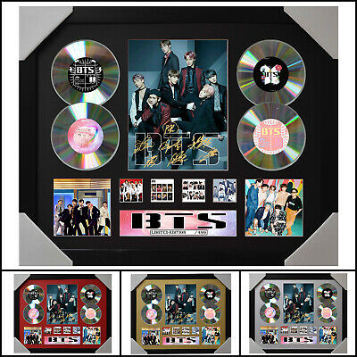 AU93.50 • Buy BTS Signed Framed Memorabilia Limited Ed 4CD - Multiple Variations