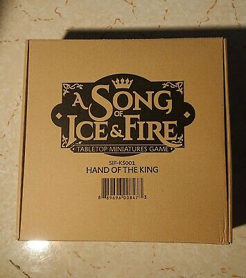 Hand Of The King Kickstarter Box - Asoiaf Cmon A Song Of Ice And Fire BRAND NEW • 70£