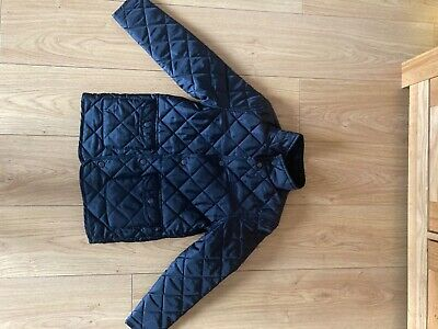 Boys Black Padded Jacket Blue Zoo Debenhams Age 9-10 Years Excellent Condition • 6£