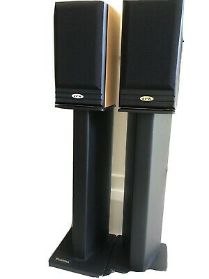 JPW ML310 Bookshelf Speakers And Atacama Speaker Stands. • 56£