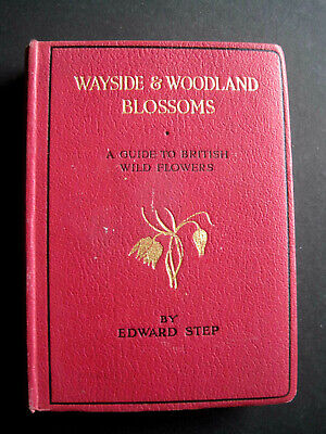 Wayside And Woodland Blossoms.......Second Edition...........Edward Step • 7.50£
