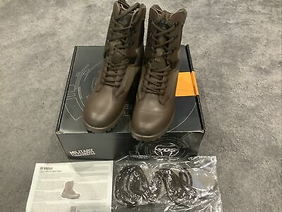 New British Army YDS Brown Kestrel Patrol Boots. Size 40 / UK 6 Cadets • 45£
