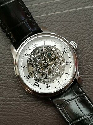 Rotary Skeleton Automatic Watch GS02518/06 Model • 29.95£