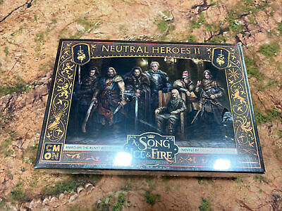 Neutral Heroes 2 A Song Of Ice And Fire Game Of Thrones New • 32£